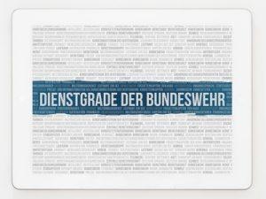Infos zu Bundeswehr Dienstgrade