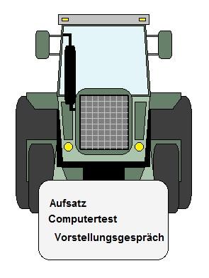 Grafik zum Bundeswehr Land- und Baumaschinenmechatroniker Einstellungstest